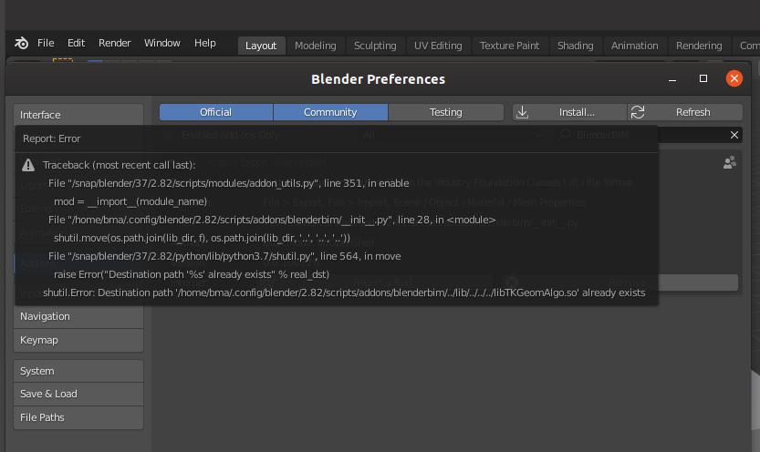 BlenderBIM_Error_Installation.png